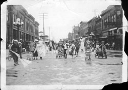 Doll Buggy Parade Bismarck 1925