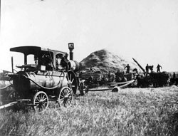 Chas Freise Farm Threshing machine 1913