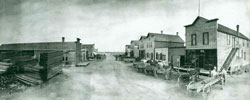 Main St. Flaxton ND