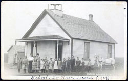 Barney District School 1909