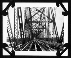 Liberty Memorial Bridge under construction Bismarck ND