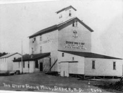 State Flour Mill, Drake ND