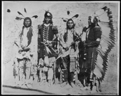 Arikara Scouts with Custer's Command