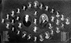 Williston High School Senior Class Photograph 1920