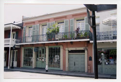 House 617 Chartres New Orleans LA