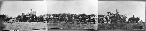 Threshing, York ND 09-25-1909