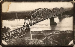 Northern Pacific Railroad Bridge, Bismarck ND 1910-1912