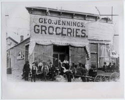 George Jennings Grocery Store 1884
