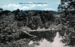 Arrowood Lake, Kensal ND 03-22-1919