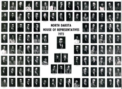 E0840 North Dakota House of Representatives Composite 1973