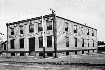 Oscar H Will Pioneer Seed House, 1904