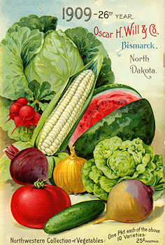 1909 Will Seed Catalog back cover