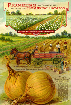 1912 Will Seed Catalog back cover