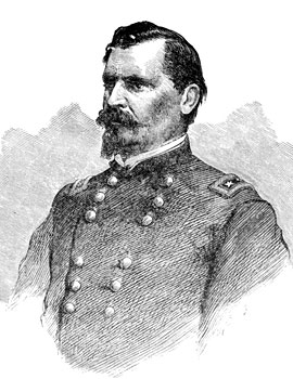William B. Hazen portrait sketch