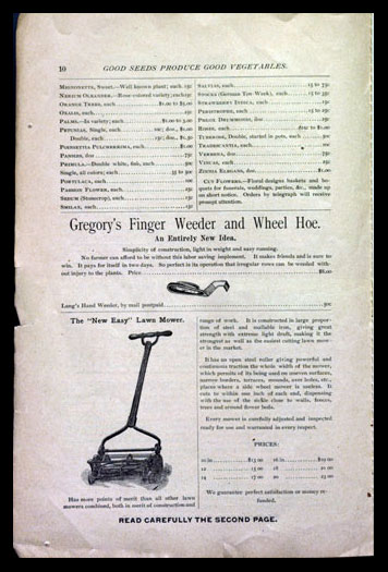 Gregory's finger weeder