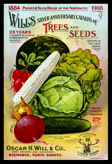 1908 Will's Seed Company Catalog Cover