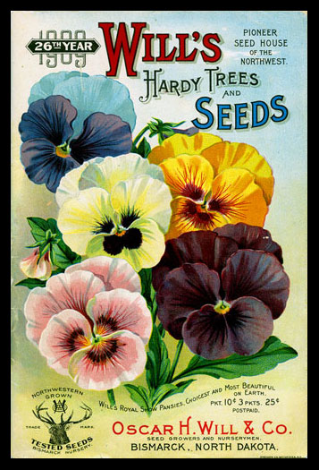 1909 Will's Seed Company Catalog Cover