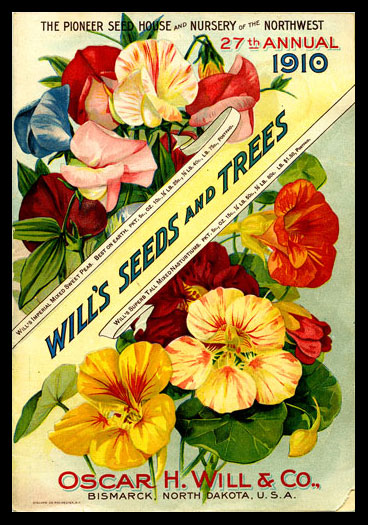 1910 Will's Seed Company Catalog Cover