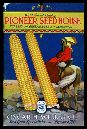 1925 Will's Seed Company Catalog Cover