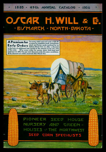 1932 Will's Seed Company Catalog Cover