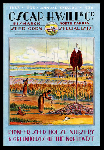 1936 Will's Seed Company Catalog Cover