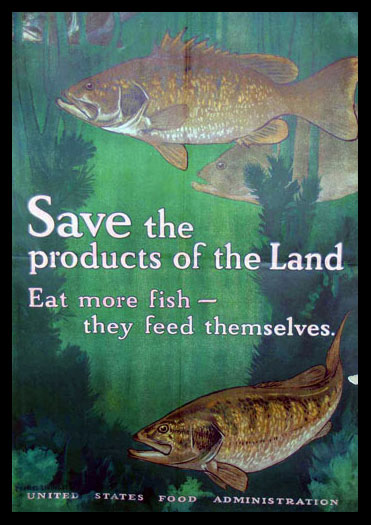Eat More Fish poster