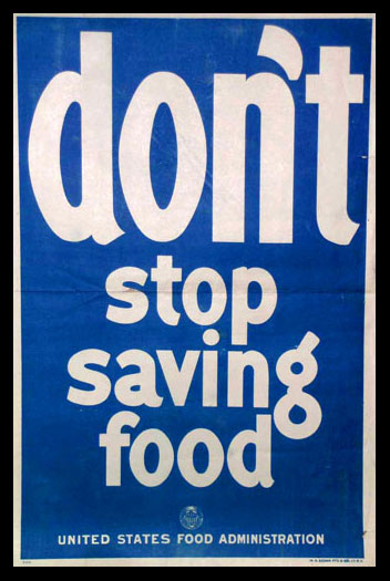 Don't Stop Saving Food poster