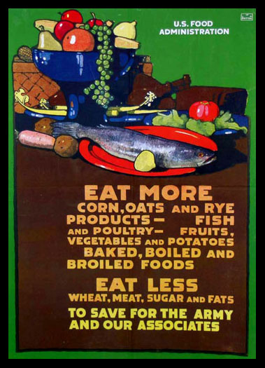 Eat More / Eat Less poster