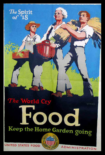 The World Cry Food poster