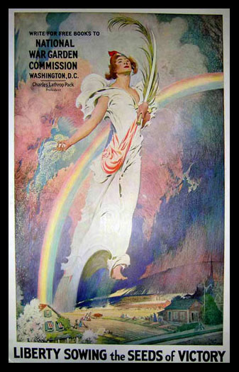 Liberty Sowing the Seeds of Victory poster