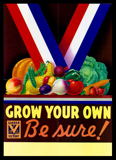 Grow Your Own poster, 1945