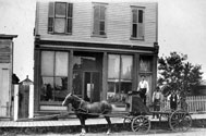 Will Seed Company Wagon and Store