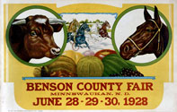 Benson County Fair Poster