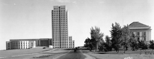 North Dakota's new capitol, ca 1934