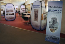 Bridges Display at Heritage Center