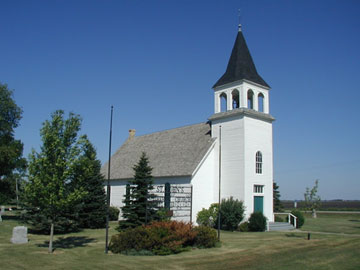 St. John's Church in Galchutt, ND