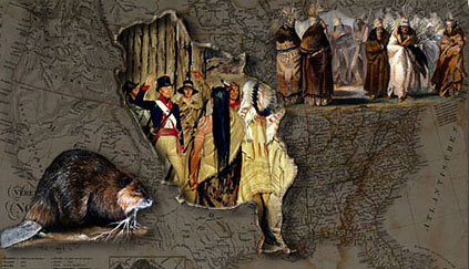 Lewis & Clark era introduction composite photo