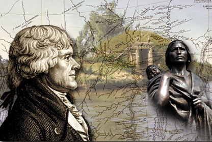 Thomas Jefferson and Sakakawea