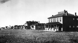 Fort Buford East Officers Row