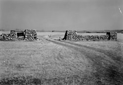 Gates at Fort Clark