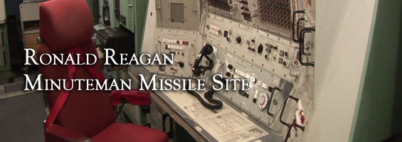 Launch control desk at Ronald Reagan Minuteman Missile Site