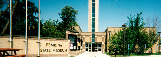 Pembina State Museum front