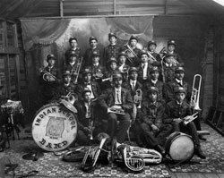 Totten Indian School Band