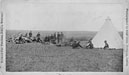 soldiers and tent at Ft. Pembina, DT
