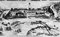 sketch of Fort Abercrombie