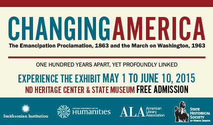 Changing America - The Emancipation Proclamation, 1863 and the March on Washington, 1963