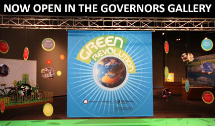 Green Revolution - Now open in the Governors Gallery
