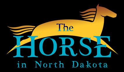 The Horse in North Dakota logo