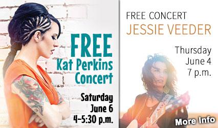 FREE Kat Perkins and Jessie Veeder Concerts