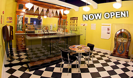 Soda shop in the Inspiration Gallery: Yesterday and Today